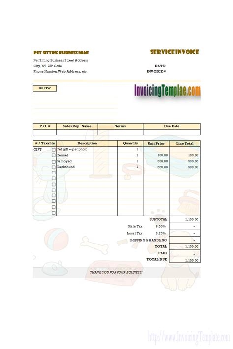 free invoice templates for excel