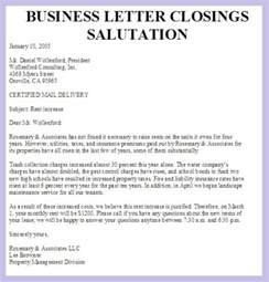 Salutation Of Business Letter N Format Salutations For Business Letter The Best Letter Sle