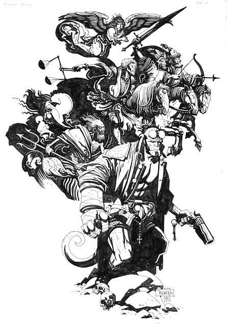 1000+ images about Mike Mignola on Pinterest
