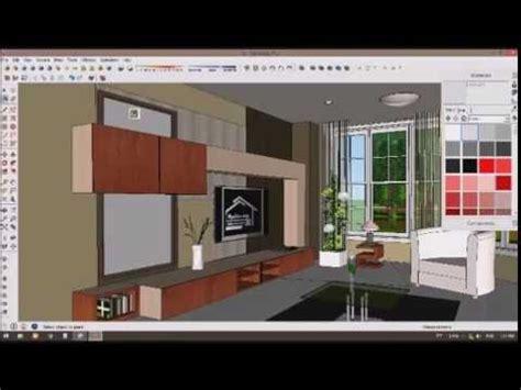 Kaca Cermin tutorial membuat kaca cermin di sketchup render vray