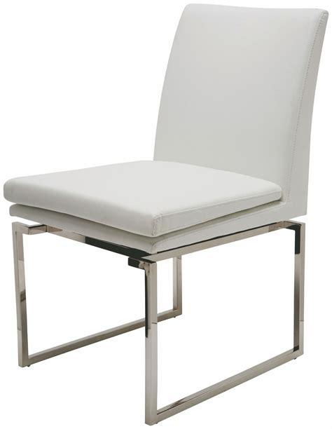 Naugahyde Chair by Savine White Naugahyde Dining Chair Hgtb164 Nuevo