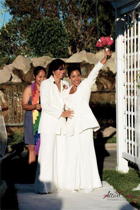Los Angeles LGBT Wedding Photographer   Altar Image