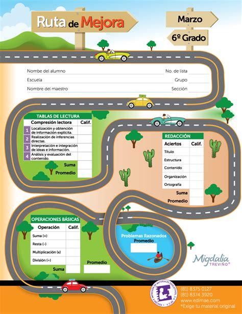 imagenes ruta escolar ruta de mejora es un cuadernillo para evaluar los