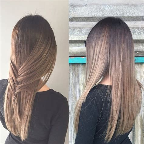 blonde balayage highlights straight hair blonde balayage straight hair braid hair pinterest