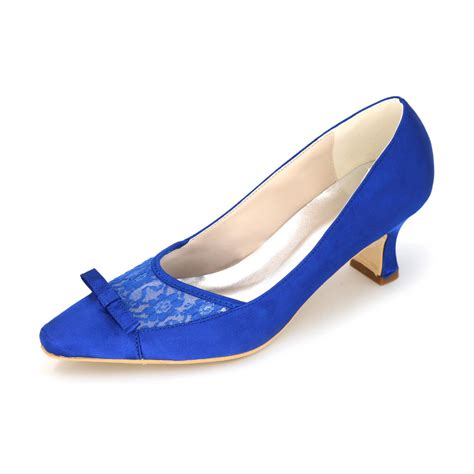 Blue Wedding Shoes For Low Heel by Royal Blue Low Heel Shoes Fs Heel