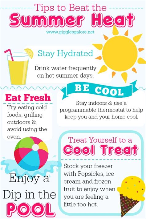 Some Tips For Summer by Tips To Beat The Summer Heat Giggles Galore