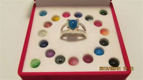 free vintage sterling silver 925 with 20 glass changeable