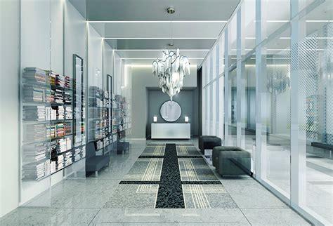 toronto interior design karl lagerfeld designs lobbies for toronto condo building