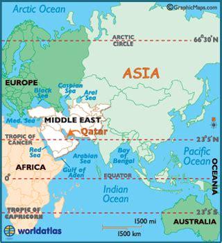 where is doha on world map qatar map geography of qatar map of qatar worldatlas