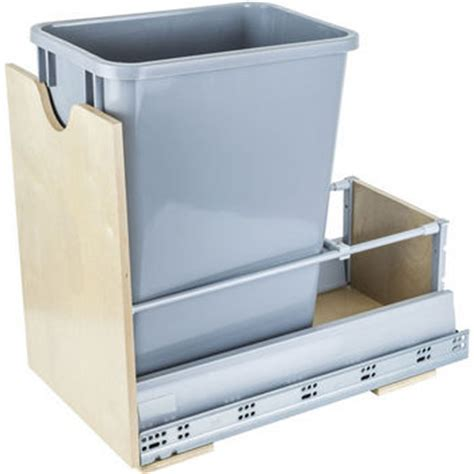 Built In Trash Cans For The Kitchen by Pull Out Built In Trash Cans Cabinet Slide Out Sink Kitchen Trash Cans
