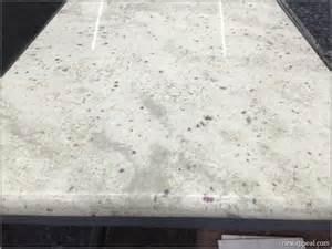 granite tile countertop in bianco romano by lazy granite