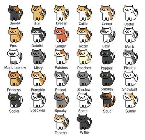 cute pattern names neko atsume cats names google search neko atsume
