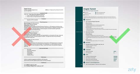 Simple Resume by Simple Resume Templates 15 Exles To Use Now