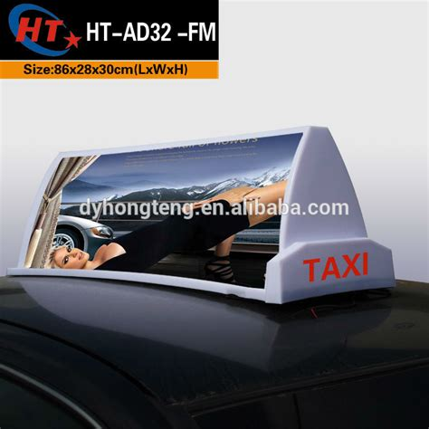 Car Roof Advertising Box - roof signs led taxi roof sign bright top board roof sign