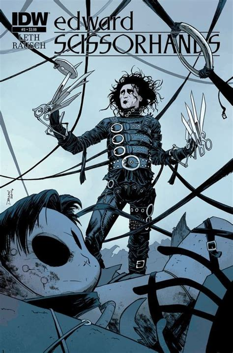 it the scissor link series volume 2 books edward scissorhands idw publishing