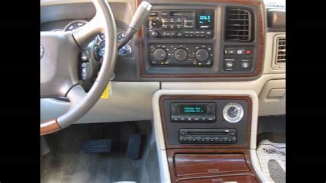 2002 Cadillac Escalade Interior by 2002 Cadillac Escalade