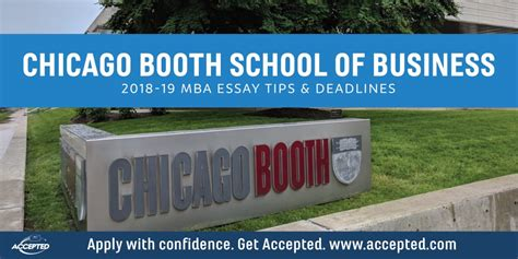Chicago Booth Executive Mba Deadline by Chicago Booth Mba Essay Tips Deadlines The Gmat Club