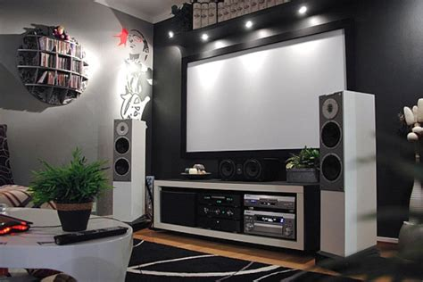 modern living room home theater d s furniture