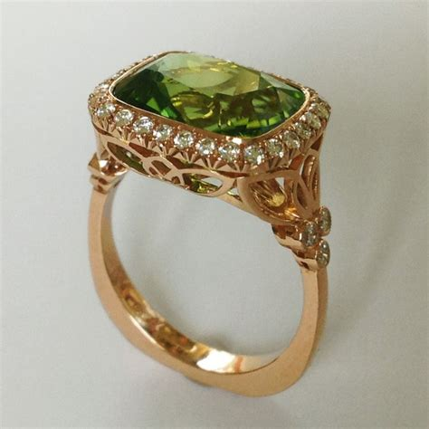 antique peridot engagement rings engagement ring usa