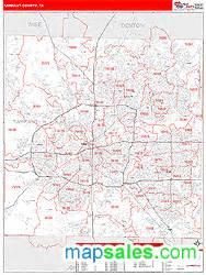map of tarrant county tarrant county tx wall map by marketmaps from davincibg