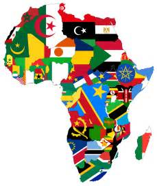 africa map flags flags africa map