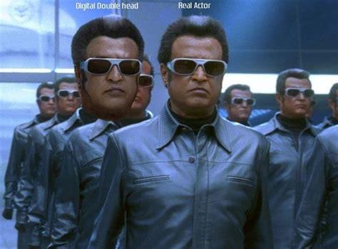 film robot sharukhan rajnikanth s shoots for shahrukh khan s ra one