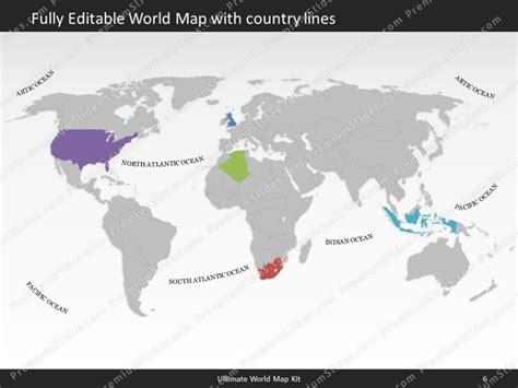 Editable World Map Powerpoint Enaction Info Editable World Map Template