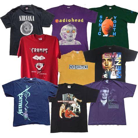 Tshirt Rock rock t shirts mix dust factory vintage clothing
