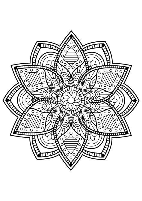how to color mandalas mandalas to color for children mandalas coloring pages