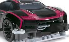 Tamiya Mini 4wd Rakiri Hitam raikiri ma chassis