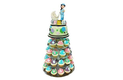 Tower For Baby Shower by Baby Shower Cupcakes Cake Tower