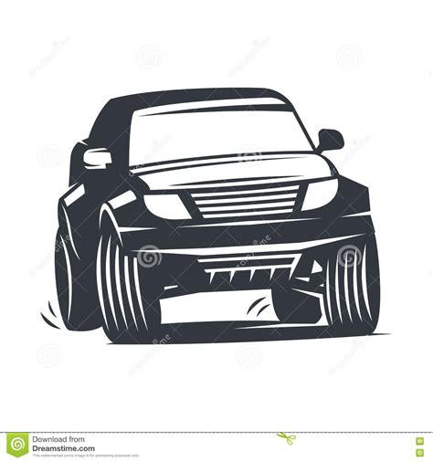 vector offroad car stock vector image 72406082