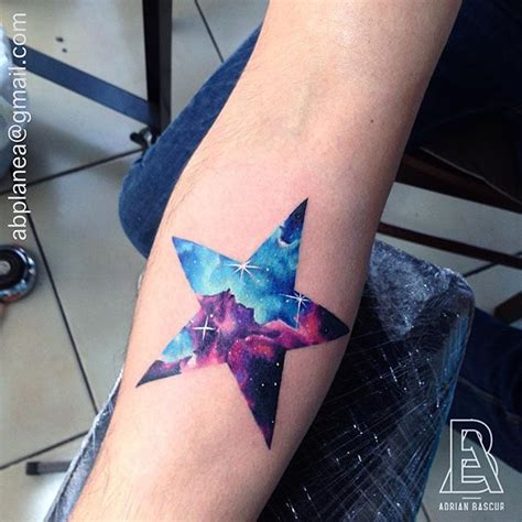 watercolor star tattoo 25 best ideas about galaxy tattoos on future