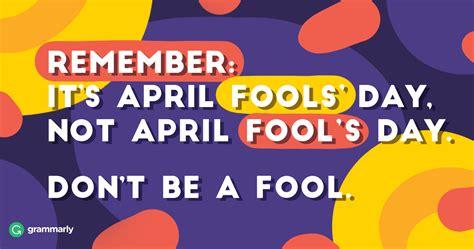 foo ls why do we call april 1 april fools day seo land