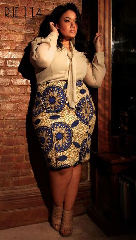 plus size african american ladie with one inch hairstyle 68 best plus size african fashions images on pinterest