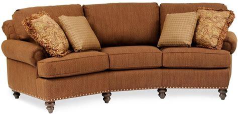 curved conversation sofa 20 photos smith brothers sofas sofa ideas