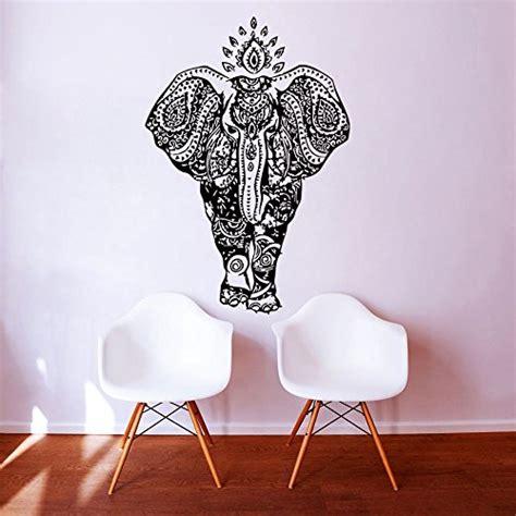 Fenster Aufkleber Ganesha by Elephant Wandaufkleber Indisches Muster Aufkleber Vinyl