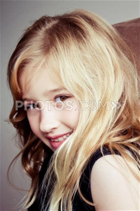 blond hair for 57 year old eight year old girl with long blonde hair royalty free
