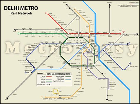 Printable Version Of Delhi Metro Map | download delhi metro map in pdf map lines route hours