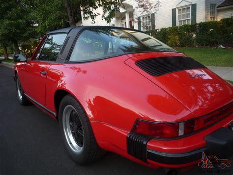 1986 porsche targa 1986 porsche 911 targa 21 000 miles red greybeige leather1