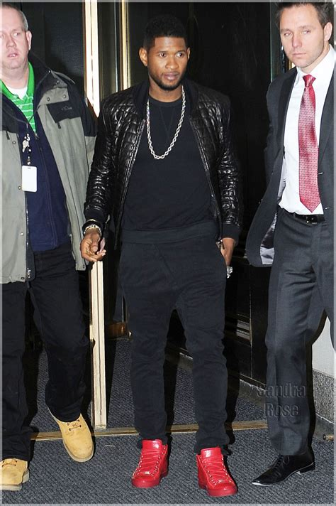 Bartier Balenciage out about usher hilson