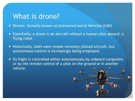 Drones And Their Increasing Number Of Applications Drone Intro Template