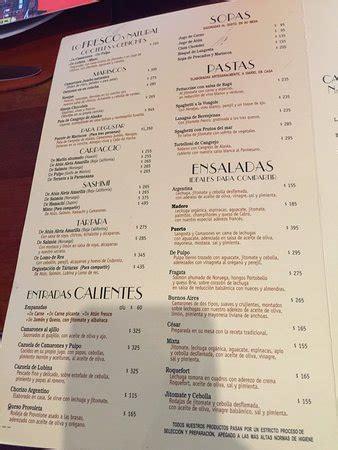 comedor jacinta polanco menu foto de puerto madero polanco ciudad de m 233 xico menu
