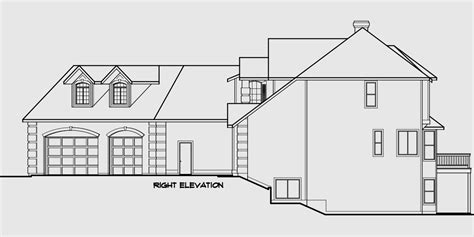 luxury house plans with basements country luxury house plan master on the main bonus 3 car