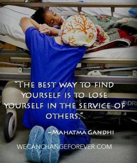 Best Way To Find On Quot The Best Way To Find Yourself Is To Lose Yourself In The Service Others Quot Gandhi G