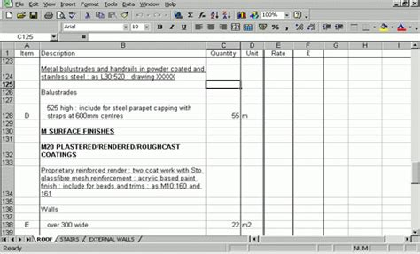 design and build contract bill of quantities bill of quantities format bill of quantity for