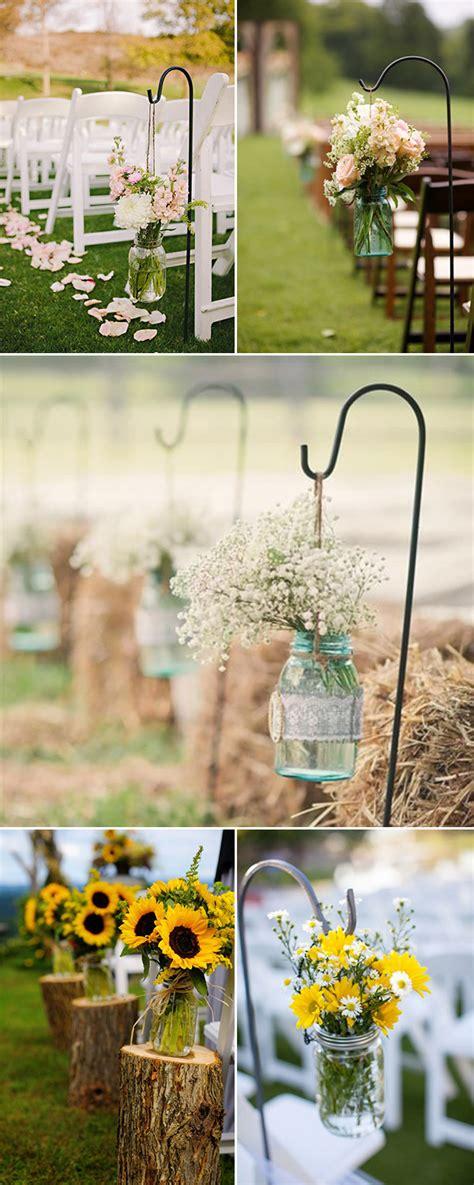 rustic wedding ideas  ways   mason jars