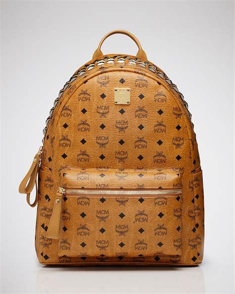 Backpack Stud Crown mcm backpack stark large crown stud bloomingdale s