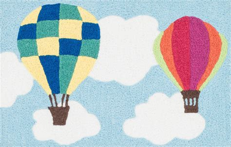 air balloon rug air balloons angelou scatter rug by loloi rugs