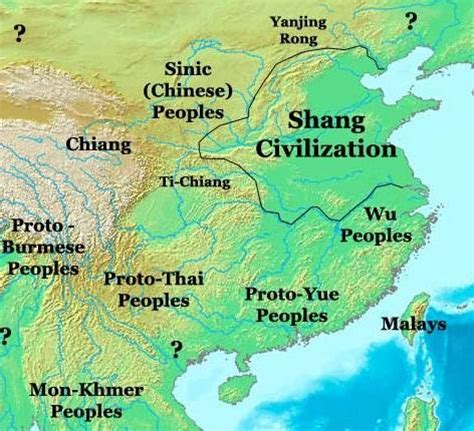 shang dynasty map ceramics or science